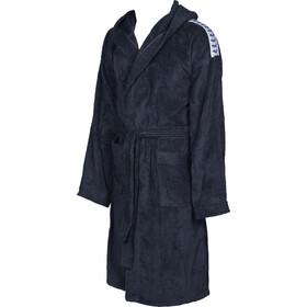 arena Core Soft Bathrobe navy white